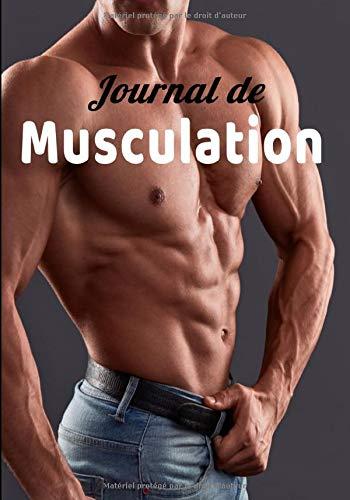Journal de musculation: Journal de musculation. Suivi régulier de vos exercices de Force/Stretching/Cardio pour hommes et femmes 122 pages  17,8 cmX25,4 cm