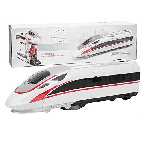 Robot de Tren de deformación, Balas de deformación eléctrica Trenes de Juguete...