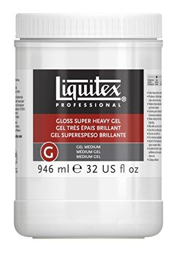 LIQUITEX Médium Gel Súper Espeso Brillante Profesional, 946 ml