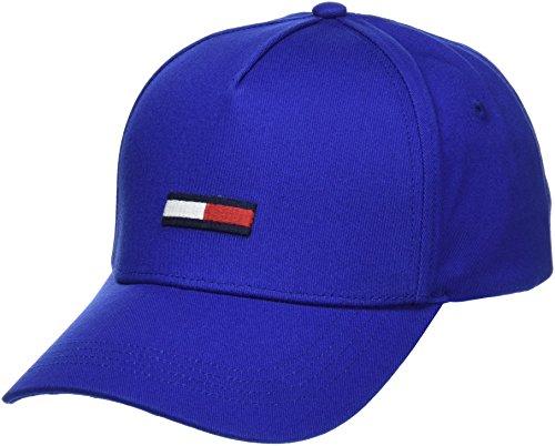 Tommy Jeans Unisex Flag   Baseball Cap Blau (Nautical Blue 483) One Size (Herstellergröße: OS)