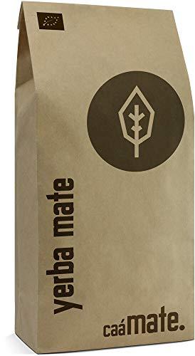 Yerba Mate Tee BIO 200g ● gereift ● luftgetrocknet ● rauchfrei ● plastikfrei ● fair ● Matetee aus Mateblättern, Mateaststückchen und Mateblattpulver ● DE-ÖKO-006