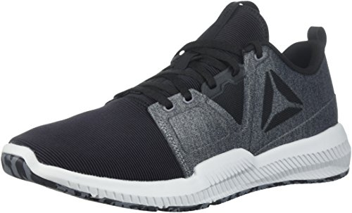 Reebok Men's HYDRORUSH TR Sneaker, Black/Alloy/Skull Grey, 8.5 M US