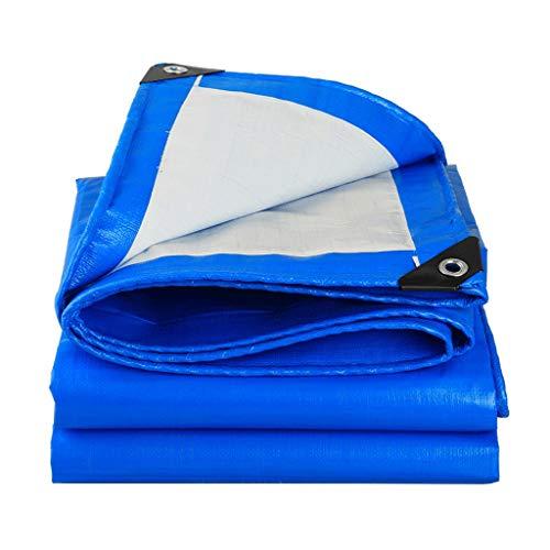 JT- Toile antisolaire Toile de Protection Solaire imperméable Bâche extérieure Bâche de Protection Solaire Parasol en Plastique Plusieurs Tailles Durable (Size : 5m*7m)