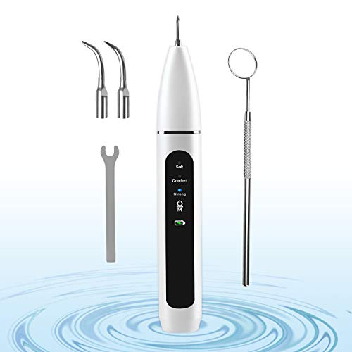 Ultrasonic Tooth Cleaner Electric Plaque Tartar Dental Calculus Remover for Teeth Dental Cleaning Kit Tools