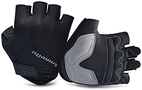 Sport gloves Weightlifting Gloves for Men And Women. Sports Gloves for Weightlifters. The Gym Gloves are Large In Size. Men's Sports Gloves Filled With Palm Grip Pads. Men's Fingerless Gloves (Size :