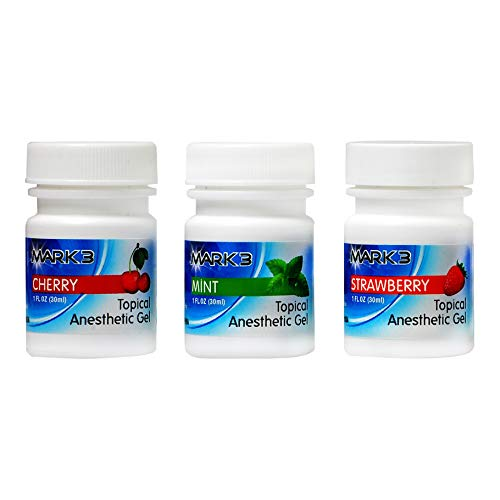 Dental Opahl 20% Benzocaine 1 Oz Topical Anesthetic Gel (3) Bottles