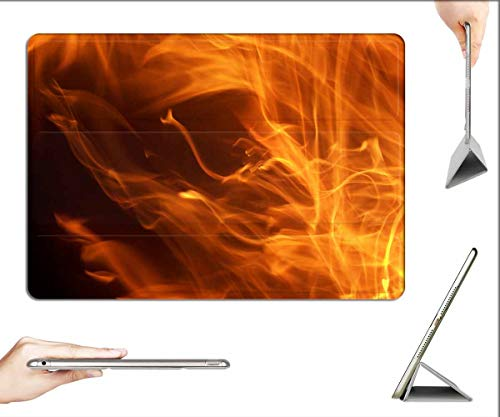 Case for iPad Pro 12.9 inch 2020 & 2018 - Dancing Flames Flame Fire Fiery Fire Ball Engulfed