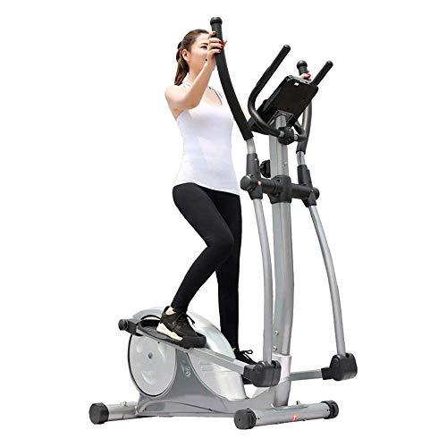 HHJJ Macchina ellittica, Bici da Esercizio Multifunzione, Macchina for Allenamento for Fitness for Ufficio Domestico, Esercizio aerobico elettromagnetico, for casa/Palestra RunningRachine1121