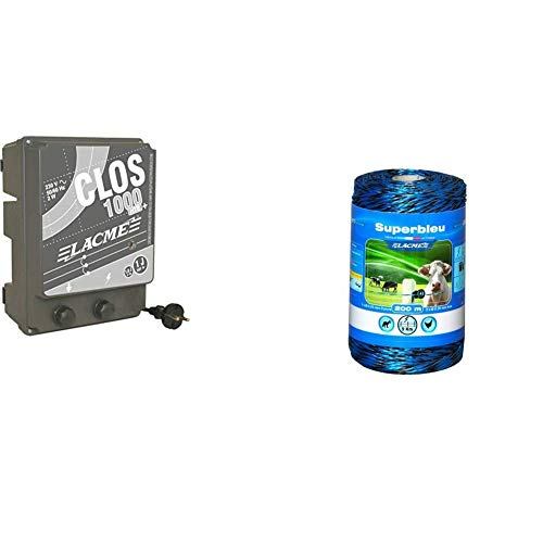 Lacme CLOS1000 Elettrificatore a Corrente e Filo per Recinzione Elettrica