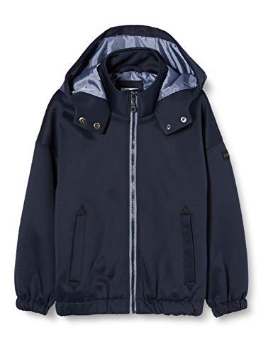 ESPRIT KIDS Mädchen RQ4200512 Outdoor Jacket Jacke, Blau (Midnight Blue 485), 140 (Herstellergröße: S)
