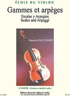 Hauchard: Gammes et Arpeges Volume 2 Violon