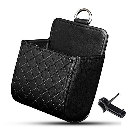 MUXItrade Pochette de Stockage Grille d'Aération Auto Support pour Téléphone Portable Clés Lunettes de Soleil Stylos