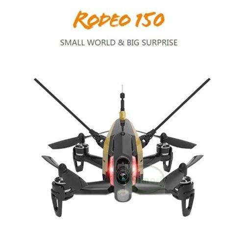 Walkera Rodeo 150 Mini FPV racing drone (BLACK) w/ 5.8G 40CH 600TVL Night Vision Camera 3D Aerobatic FPV Quartcopter