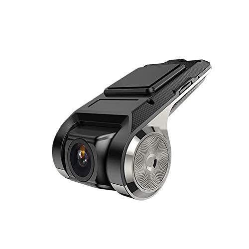 Dash Cam Dashcam Auto Rilevatore di Autovelox Telecamera per auto Car Dash Fotocamera Anteriore E Posteriore Mini Dash Cam Single record,One Size
