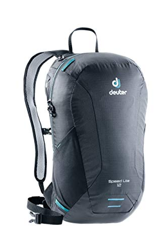 Deuter Speed Lite 12 Wanderrucksack, Black, 44 x 24 x 14 cm, 12 L