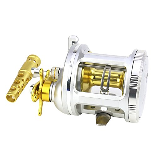 Spinning Carrete de pesca Sistema de freno doble Metal Rocke