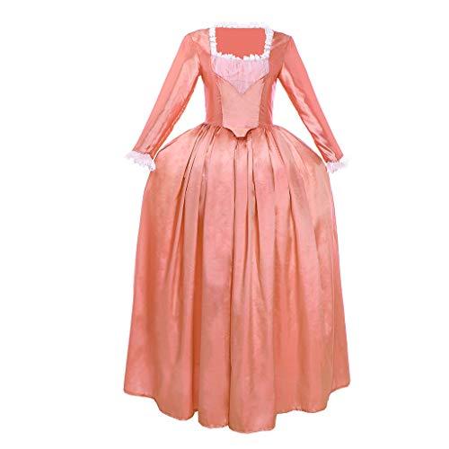 Fortunehouse Hamilton Disfraz retro vestido medieval Marie Antoinette Ball Vestidos para Halloween