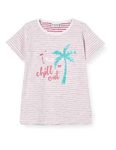 Salt & Pepper Mädchen 03112282 T-Shirt, Rosa (Magenta 874), (Herstellergröße: 92/98)