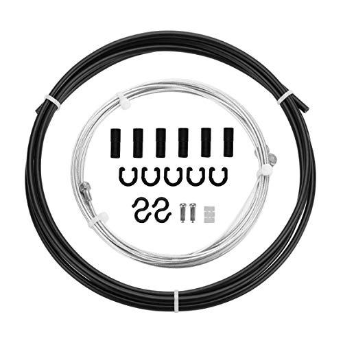 CNC Fahrrad Bremszug,Fahrrad Bremskabel Set,Schwarz
