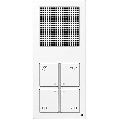 Jung–indooreinheit Audio Standard weiß alpin