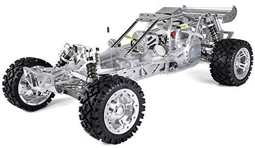 Ayanx 1: 5 Off Road Control Remoto Coche, RC Racing Car High-End Full-Metal 36Cc Gasolina RC Cross Country Car Toy Coche De Carreras De Alta Velocidad para Adultos