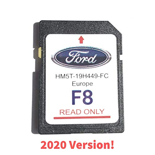 Ford F8 SYNC2 SD Card Navigation Map Europe 2019-2020