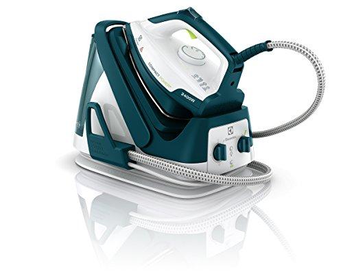 Electrolux EDBS7146GR - Centro de planchado, 2400 W, color azul y blanco