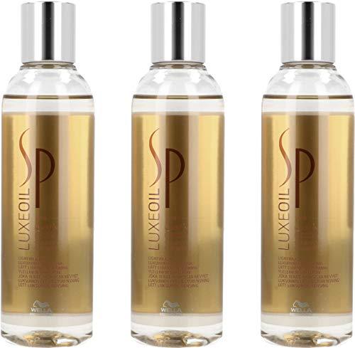 Wella SP Luxe Oil Keratin Protect Shampoo 3x200 ml