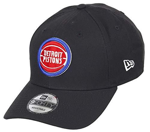 New Era Detroit Pistons 9forty Adjustable Snapback cap NBA Essential Black - One-Size
