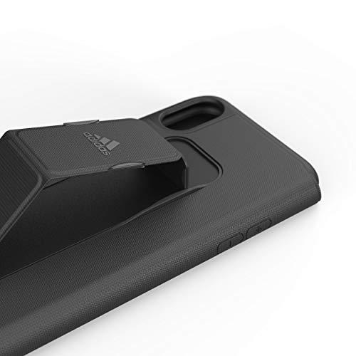 Adidas - Funda para iPhone X/XS, Color Negro