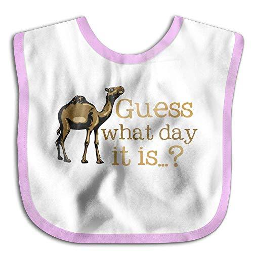 Hump Day What Day It is Newborn Baby Boys Girls Towel Bib Skin-Friendly Saliva Towel Bibs