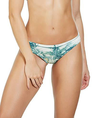 Entreaguas Traje de baño de Mujer teñido a Mano con Parte Inferior de Bikini - Multicolor - Small