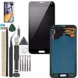 YWL-OU Reemplazo de Pantalla para Samsung Galaxy S5 I9600 SM-G900 G900M G900A G900T G900FD LCD Display LCD Assembly de Pantalla Táctil + Herramientas Práctica