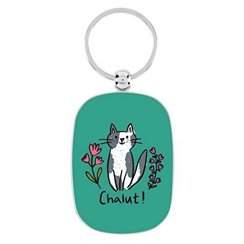 Porte-clés OPAT Chat chalut - Derrière la porte
