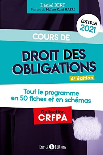 Cours de droit des obligations 2021 (CRFPA)