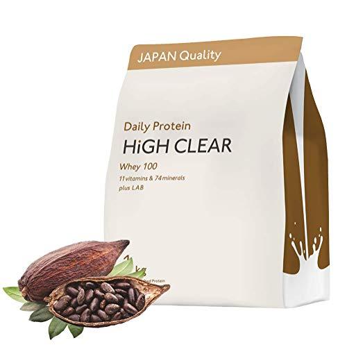 HIGH CLEAR ホエイステビア ココア味 1kg(約33食分)