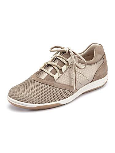 Avena Damen Hallux-Sneaker Feel Free Beige Gr. 36