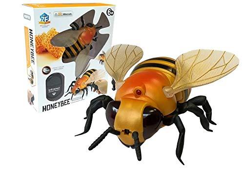 Listiges Spielzeug, RC Ferngesteuertes Insekt, Ferngesteuertes Biene, Große Realistische Biene mit IR Fernbedienung