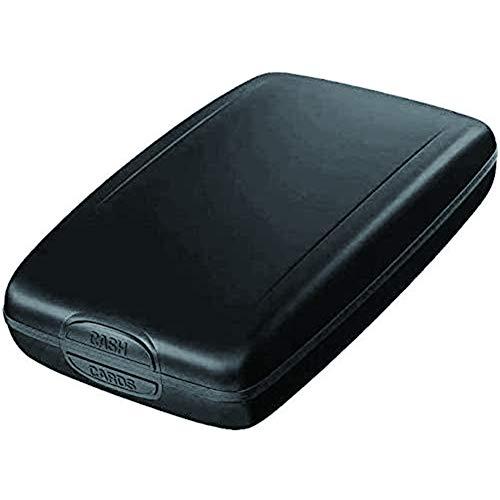 RFID Sichere EIN- und Auszahlungen Geldbörse, Aluminium RFID Brieftasche Informationshalter, Sicherheit RFID Blocking...