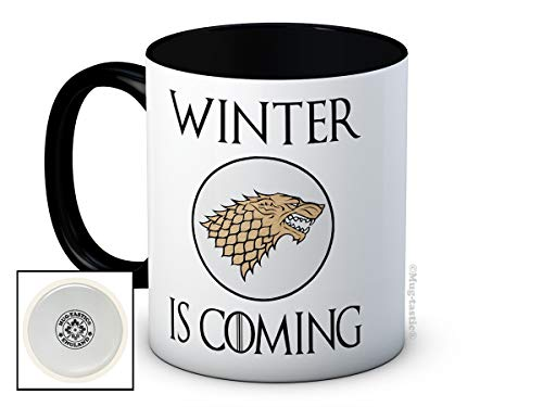 Winter is Coming - Stark Sheild Sigil - Game of Thrones - Hochwertigen Kaffeetasse