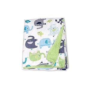 Harson&Jane Toalla de Baño de Bebé de Felpa Corto Super Suave de Felpa Envoltura de Manta Toalla de Baño de Bebé 76×102cm