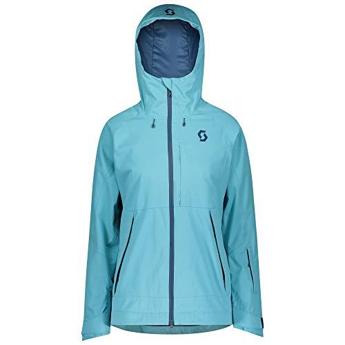 Scott W Ultimate Dryo Jacket Blau, Damen Thinsulate™ Regenjacke, Größe S - Farbe Bright Blue