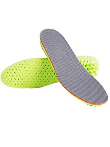 Boowhol 1 Pair Hauteur Augmentation Semelle Semelle Intérieure Augmenter 1.5 cm 2.5cm 3.5cm -Découpable Aux Ciseaux pour s'adapter a Toutes les Chaussures (41 - 43, 3.5cm)