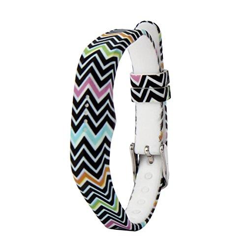 Vovotrade Dames zachte siliconen horlogeband armband voor Fitbit Flex 2 Smart Watch(H)