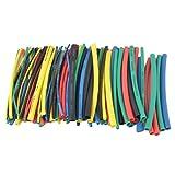 Yangge Yujum 100pcs 5 Color Encogimiento de 100 mm de Calor Tubo de la Bolsa de plástico Transparente de cloruro de polivinilo Que Encoge Tubos