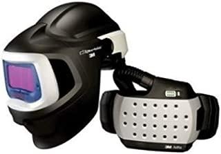 3M Adflo Powered Air Purifying Respirator High Efficiency System with Speedglas Welding Helmet 9100 MP,  with Hard Hat, SideWindows and Auto-Darkening Filter 9100X, Shades 5, 8-13 27-1101-20SW (Case of 1)