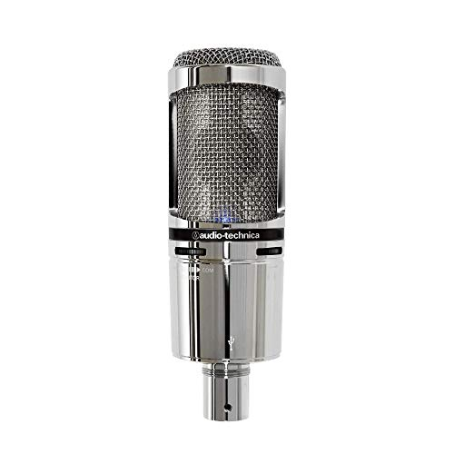 audio technica AT-2020 USB+V Microfono USB Limited Edition in Chrome