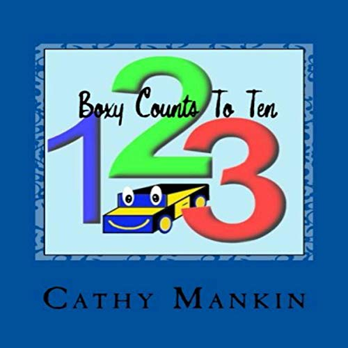 Boxy Counts to Ten audiobook cover art