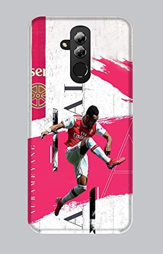 Funda blanda de TPU Huawei Mate 20 Lite Sport 096 Aubomeyang Arsenal