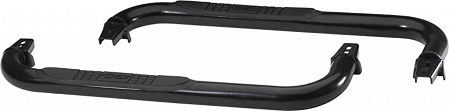RAMPAGE PRODUCTS 8625 Textured Black Step Bars for 1997-2006 Jeep Wranglers YJ & TJ